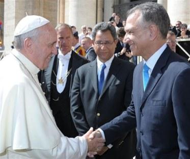 El Papa y RD