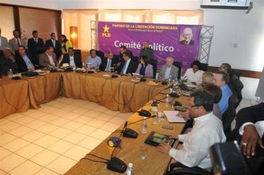 Felucho Jimenez Reunion Comite Politico
